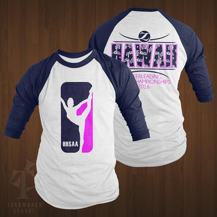 Cheerleading High School Shirt Design