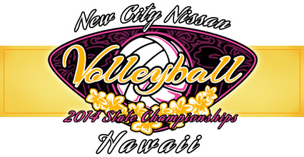 2014 HHSAA Girls Volleyball State Championships @ Arena