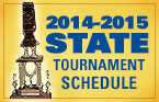 2014-2015 Tournament Schedule